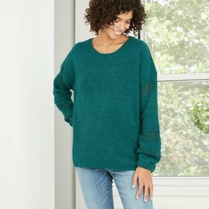 Knox Rose Bubble sleeve sweater